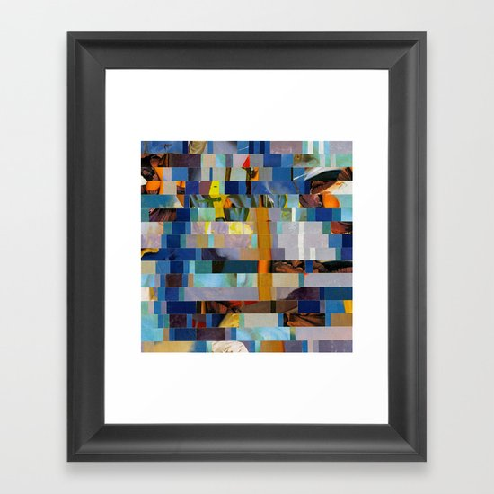 Up The Creek Without A Poodle (Provenance Series) Framed Art Print