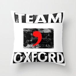 Team Oxford Throw Pillow