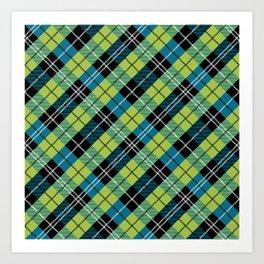 Squared Pattern 7 Art Print