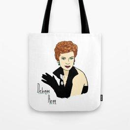 Deborah Kerr Portrait Tote Bag