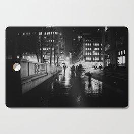 New York City Noir Cutting Board