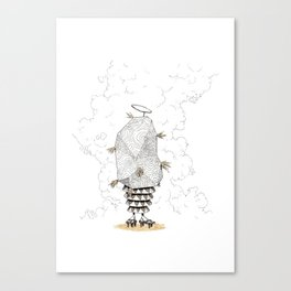 Holy creature from space Canvas Print