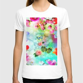 Floral Fantasy 9 T-shirt