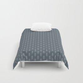 Winter Trees Grey Comforters