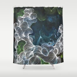 Steam Machine Shower Curtain