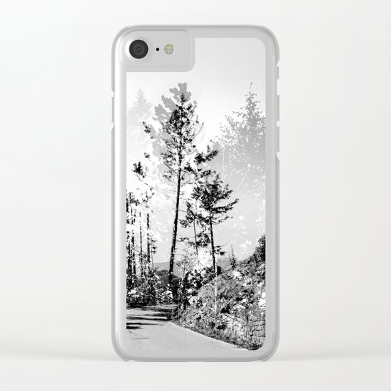 Woodland Clear iPhone Case