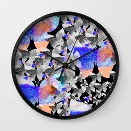Magical flight Wall Clock