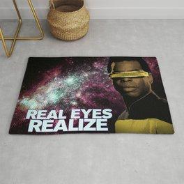 Geordi: Real Eyes Realize Rug