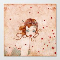 lolita Canvas Prints featuring Lolita by Minasmoke