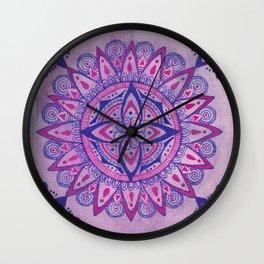 Simpe Purpe Manala Wall Clock