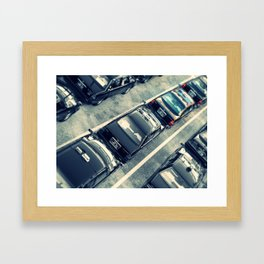 Japanese Taxis Framed Art Print