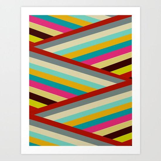 razzle Art Print