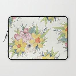 English Spring Garden Laptop Sleeve