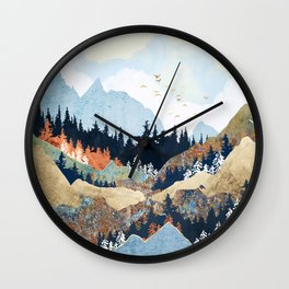 Spring Flight Wall Clock
