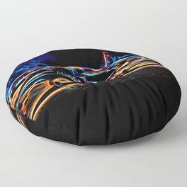 Neon Jet Floor Pillow
