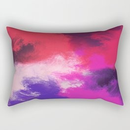 Painted Clouds Rectangular Pillow