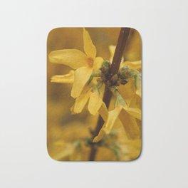 Bloomin' Yellow Bath Mat