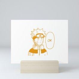 Hero Anime Ok Mini Art Print