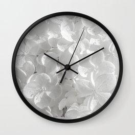 Holy Hydrangea V Wall Clock