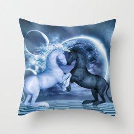 Schach Throw Pillow