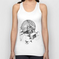 clear Tank Tops featuring crystal clear by Chanda Stallman