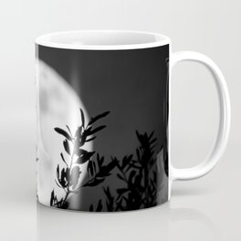 Full Moon Leaves Coffee Mug