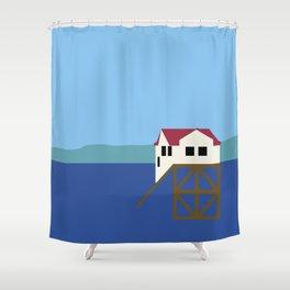 Mumbles Shower Curtain