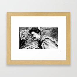 how's annie? Framed Art Print