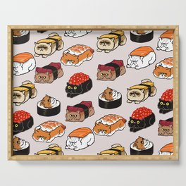 Sushi Persian Cat Serving Tray