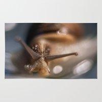 salt water Area & Throw Rugs featuring Salt by Ozgur Kalender