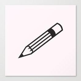 pencil party Canvas Print