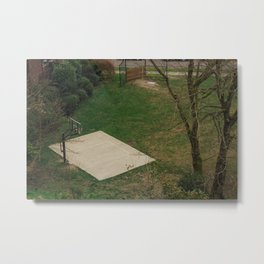 Half Court - Seattle, WA Metal Print