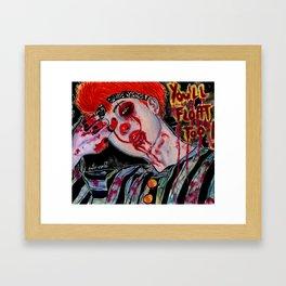 RM- YOU'LL FLOAT TOO! Framed Art Print