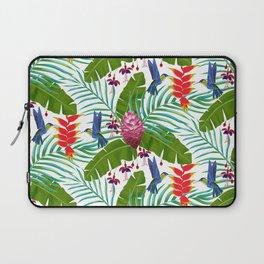 Hummingbird in the Rainforest Laptop Sleeve