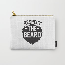 Respect The Beard Carry-All Pouch