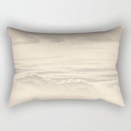 Abstract Pink Clouds Rectangular Pillow