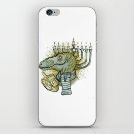Hanukkah Dino iPhone Skin