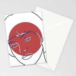 Nana (Vivre Sa Vie - Jean-Luc Godard) Stationery Cards