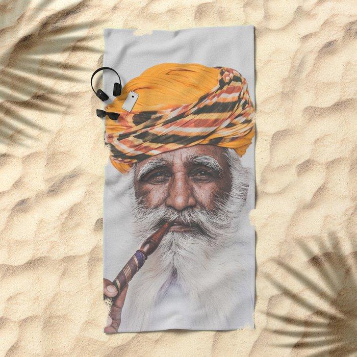 Jodhpur (colour) Beach Towel