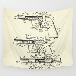 Marble Shooting Pistol-1932 Wall Tapestry