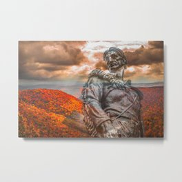 West Virginia Almost Heaven Metal Print
