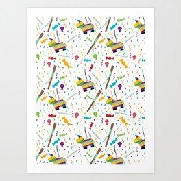 Piñatas Art Print