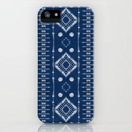 "Shibori Style ""Ladder"" iPhone Case"