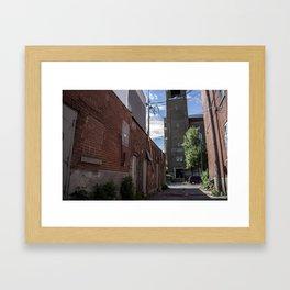 Montreal Alley Framed Art Print