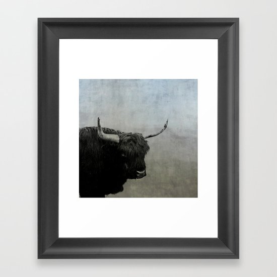 The Lumbering Beast  Framed Art Print