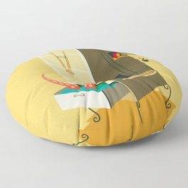 Love falling down Floor Pillow