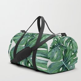 Monstera Duffle Bag