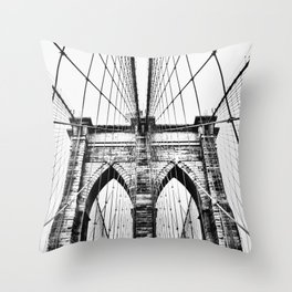 Brooklyn Bridge x Throw Pillow