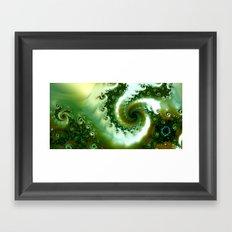 Amongst the seaweed Framed Art Print
