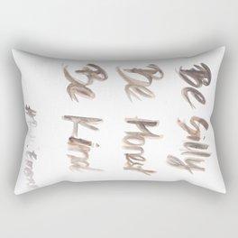 141116 Typography 13 Rectangular Pillow